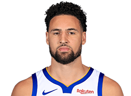 Picture of the 6 ft 6 in (1.98 m) tall American shooting guard of Golden State Warriors