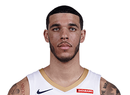 Picture of the 6 ft 6 in (1.98 m) tall American point guard of New Orleans Pelicans