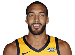 Picture of the 7 ft 1 in (2.16 m) tall French Center of Utah Jazz