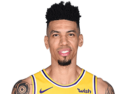 Picture of the 6 ft 6 in (1.98 m) tall American shooting guard of Los Angeles Lakers