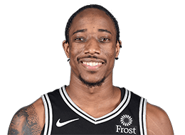 Picture of the 6 ft 6 in (1.98 m) tall American shooting guard of San Antonio Spurs