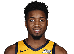 Picture of the 6 ft 1 in (1.85 m) tall American shooting guard of Utah Jazz
