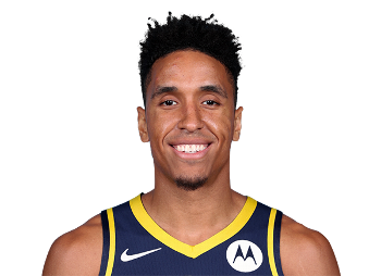 Picture of the 6 ft 5 in (1.96 m) tall American point guard / shooting guard of Indiana Pacers